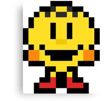 Pixel Pac-Man Canvas Print