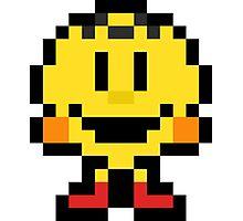 Pixel Pac-Man Photographic Print