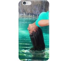 Turquoise Dreams (aka, Tropical Levitation) iPhone Case/Skin