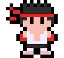 Pixel Ryu Photographic Print