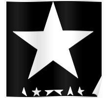 David Bowie BlackStar Tribute Poster