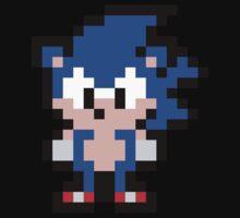 Pixel Sonic the Hedgehog Baby Tee
