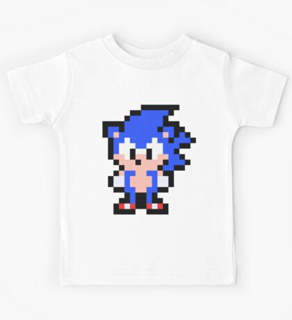 Pixel Sonic the Hedgehog Kids Tee