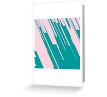 Jagged Edges Greeting Card
