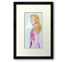 Legend of Zelda: OoT Princess Zelda Framed Print