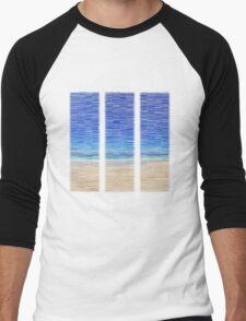 Summertime Blues Men's Baseball ¾ T-Shirt