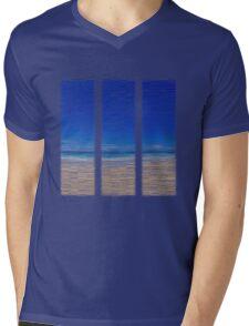 Summertime Blues Mens V-Neck T-Shirt