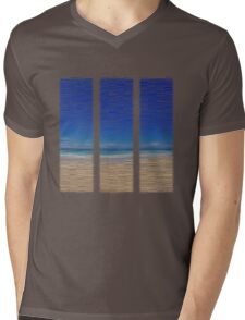 Summertime Blues Mens V-Neck T-Shirt