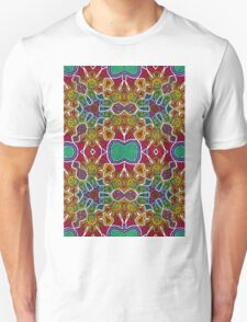 Psychedelic Abstract colourful work 203 T-Shirt