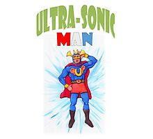 Ultrasonic Man Photographic Print