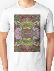 Psychedelic Abstract colourful work 202 T-Shirt