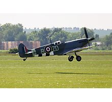 Spitfire Takes Off Photographic Print