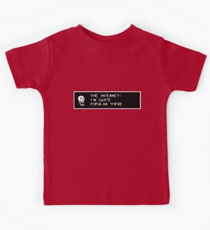 Papyrus Undertale  - The internet! Kids Tee