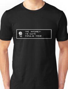 Papyrus Undertale  - The internet! Unisex T-Shirt