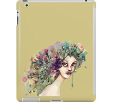 Her name is flora iPad Case/Skin