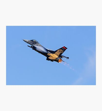 F-16 Reheat Photographic Print