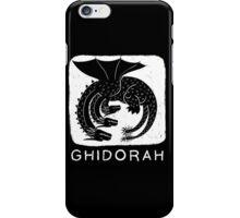 Woodcut Ghidorah iPhone Case/Skin
