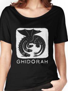 Woodcut Ghidorah Women's Relaxed Fit T-Shirt