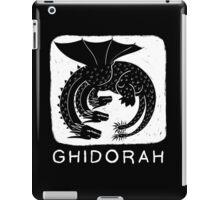 Woodcut Ghidorah iPad Case/Skin