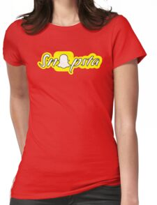 Snapsta!! Womens Fitted T-Shirt
