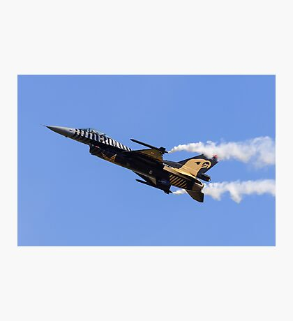 F-16 Smoking Photographic Print
