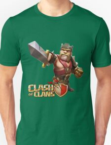 Barbarian King Clash of Clans T-Shirt