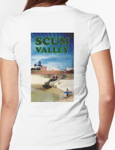 Scum Valley Womens Fitted T-Shirt
