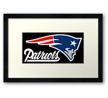 THE PATRIOT LOGO Framed Print