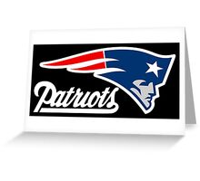THE PATRIOT LOGO Greeting Card