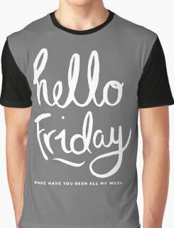 Hello Friday Graphic T-Shirt