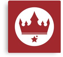 The Crown of The New Monarchy Emblem Canvas Print