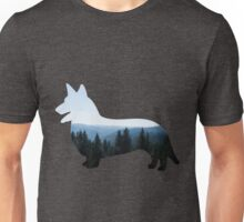 Nature Inspired Corgi  Unisex T-Shirt