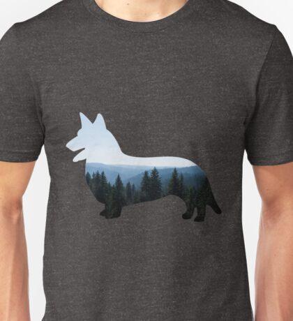 Nature Inspired Corgi  Unisex T-Shirt