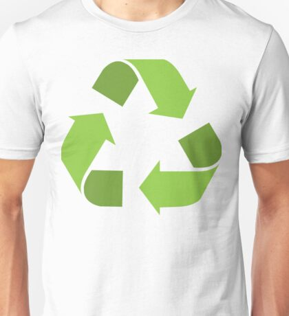 Green Reduce, Reuse, Recycle, Repurpose Mother Earth Unisex T-Shirt