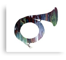 Hunting Horn Canvas Print