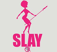 OKAYI GOTIT SLAY Pank Womens Fitted T-Shirt