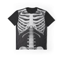 Anatomy white bones skeleton Graphic T-Shirt