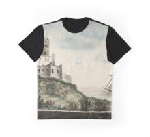 Medieval Castle Graphic T-Shirt