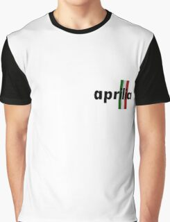 Aprilia centered logo Graphic T-Shirt
