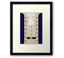 Hamilton Clothes Framed Print
