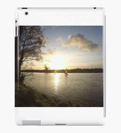 Sandy lane sail boats iPad Case/Skin