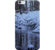 Cool Winter Stream iPhone Case/Skin