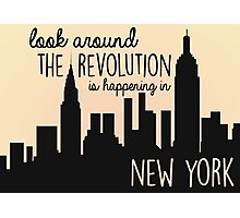 Revolution in NYC Photographic Print