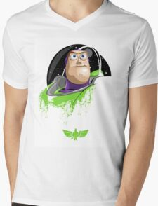 Buzz Lightyear Mens V-Neck T-Shirt