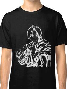 Edward from the Anime/Manga Fullmetal Alchemist White Vector Illustration  Classic T-Shirt