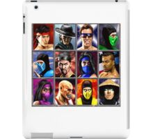 Mortal Kombat 2 Character Select iPad Case/Skin