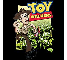 Toy Walkers Photographic Print