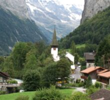 Lauterbrunnen Valley, 2011 Sticker