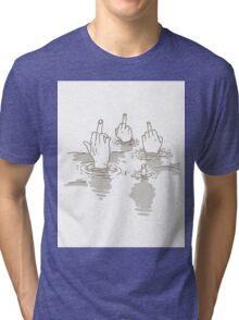 Swimming In Judgement Tri-blend T-Shirt