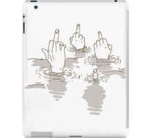 Swimming In Judgement iPad Case/Skin